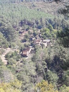Cerdeira village surrounded by unmanaged forests
